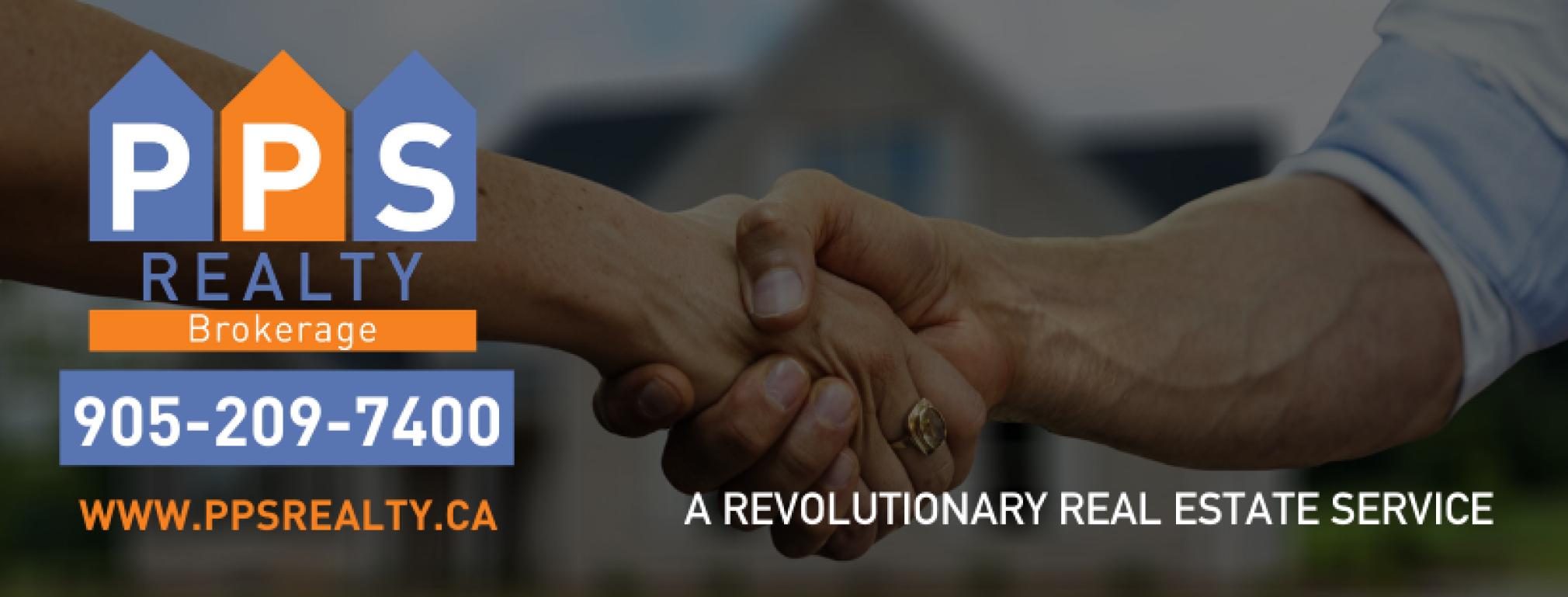 Handshake, PPS Realty Logo - PPS Realty Rebates for Homes in Woodbridge, Ontario